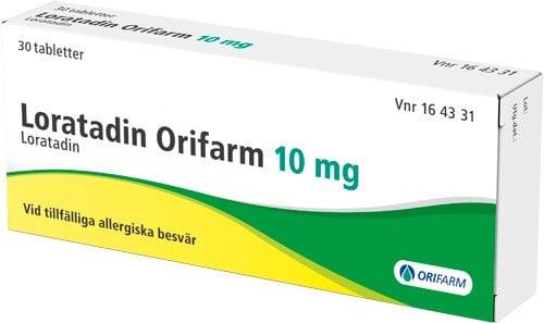 مضاد هيستامين دواء لوراتادين Loratadine 10 mg