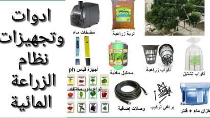 أنواع أنظمة الزراعة المائية