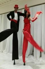 Hala on Stilts Gala Tuxedo Red vaughn Toronto Oct 2016