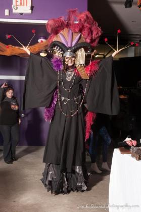 Hala on Stilts Dark Empress