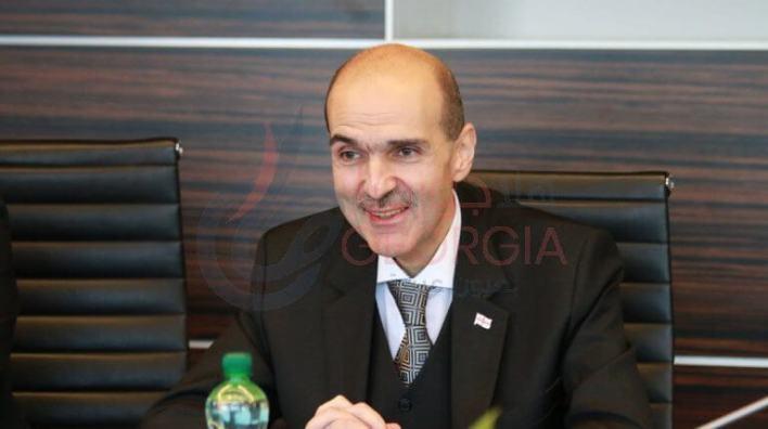 سفير جورجيا بالقاهرة ألكسندر نالباندوف Alexander Nalbandov
