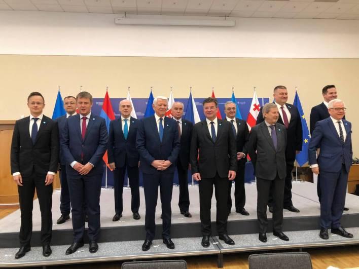 10 سنوات علي إنشاء شراكة الاتحاد الأوروبي الشرقية
