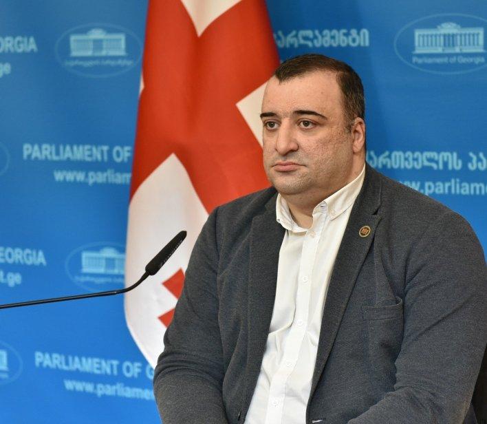 """راتي ايوناتامشفيلي Rati Ionatamishvili"""" عضو لجنة حقوق الإنسان والمعاق جسدياً"""
