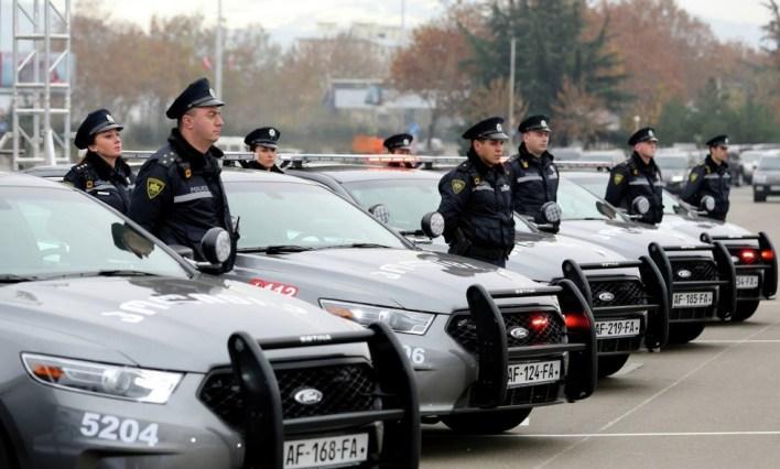 رجال الشرطة الجورجية