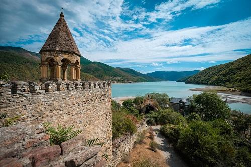 السياحة في جورجيا المسافرون العرب قلعة انانوري