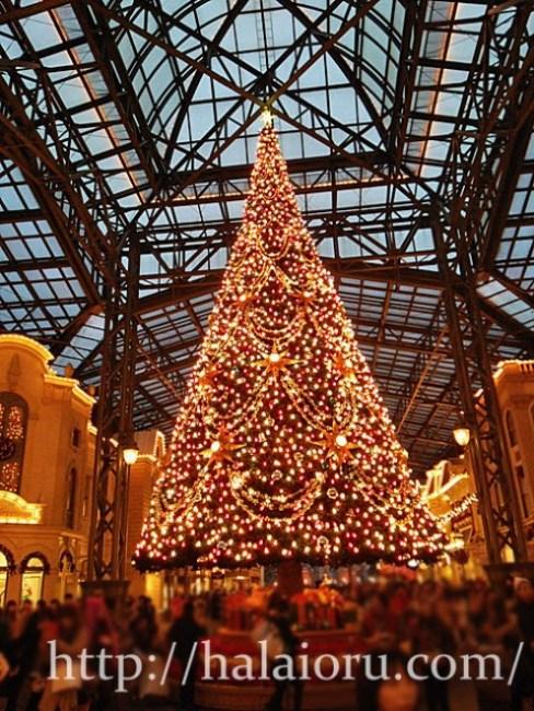 ディズニークリスマスツリー2015