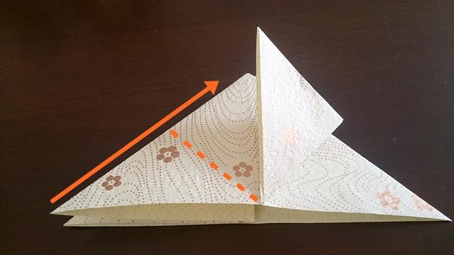 ひな祭りの折り紙ぼんぼり編6