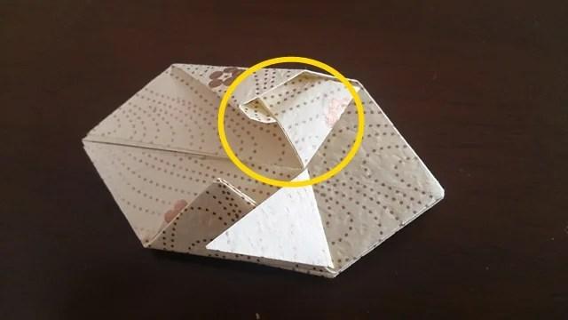 ひな祭りの折り紙ぼんぼり編13