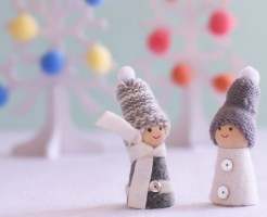 クリスマスツリー 北欧風