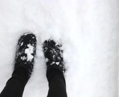 足元 寒い 対策