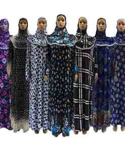 (12 pieces/lot) New Style Women khimar Kaftan Muslim abaya Maxi Dress prayer clothing Islam hijab abaya qk033 Women Women's Abaya Women's Clothings