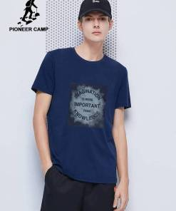 Pioneer Camp 2020 short sleeve t shirt men fashion brand design 100% cotton T-shirt male quality print tshirts o-neck 405038 Men Men's Clothings Men's Tee Men's Tops
