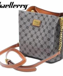 Baellerry woemn shoulder bags high quality designer crossbody bags for lady vintage messenger bag leather handbags Luxury Women Women's Bags
