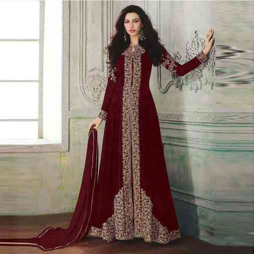 India and Pakistan clothing women's long skirts Muslim printing noble and including hijab dress Arab kimono Islamic luxury dress Herbal Products