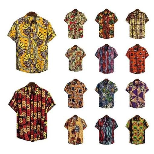 Men Dashiki Loose Blouse Fashion Tee Tops Bazin Riche African India Casual T Shirt Ankara Homme Short Sleeve Print Retro Clothes Herbal Products