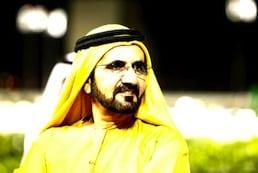 Dubai ruler Sheikh Mohammed bin Rashid Al Maktoum.