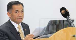 Dato Ali Apong, deputy minister at the office of Brunei's prime minister