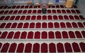 The mosque at the Islamic Cultural Centre, Vienna, Austria