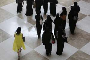 Even the traditional abaya has not escaped the demands of fashion. (Kamran Jebreili / AP)
