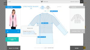 One step closer to getting the perfect fit with online shopping.