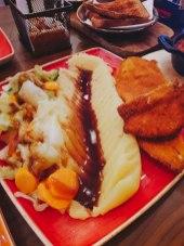 Chicken Escalope (with mash)