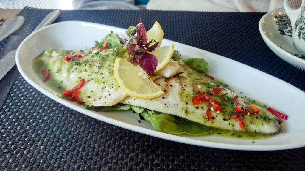 SEA BASS WITH CHILLI AND LIME