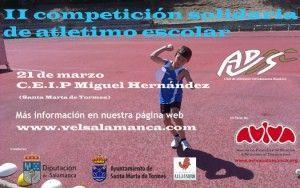 Competicion Solidaria de Atletismo Escolar