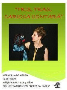 Cuentacuentos con Carioca en la Biblioteca de Cabrerizos