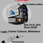 Cuentacuentos en Cabrerizos el 24 de abril