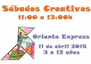 Sábado Creativo en Aprendiver viaja a Oriente 11 de abril