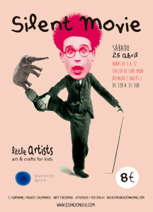 Silent Movie en el Little Artists de Espacio Nuca