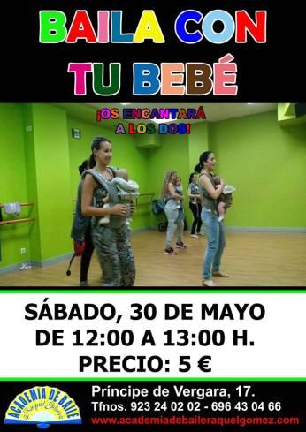 A bailar con tu bebé el 30 de mayo