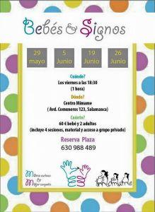 Curso Signos para bebés en 4 sesiones