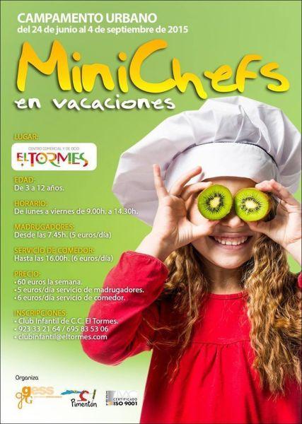 Minichefs en vacaciones en El Tormes de Salamanca