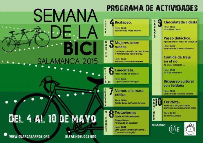 Semana de la BICI en Salamanca