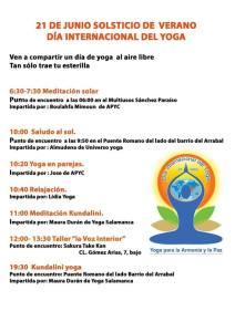 Día Internacional de Yoga 2015