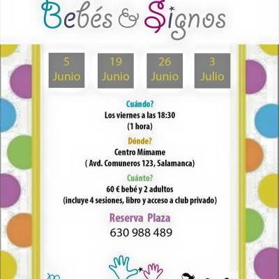 Bebés y Signos en Mímame el 5 de junio
