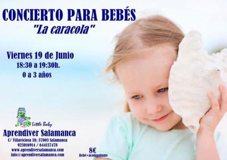 Concierto para bebes el 19 de junio en Aprendiver