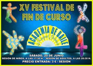 FestivalFinDeCurso Academia Baile Raquel Gómez