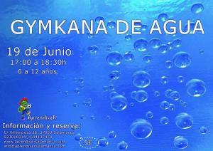 Gymkana de agua en Aprendiver el 19 de junio