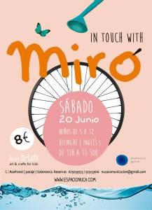 Miró en Little Artists de Espacio Nuca