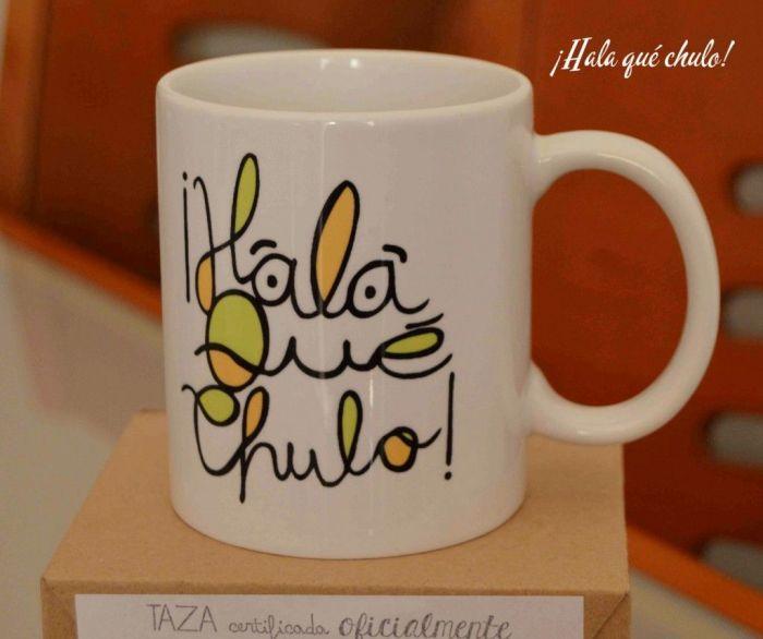 Taza de Quiérete Mucho para Sorteo 1000 Fans de HQC