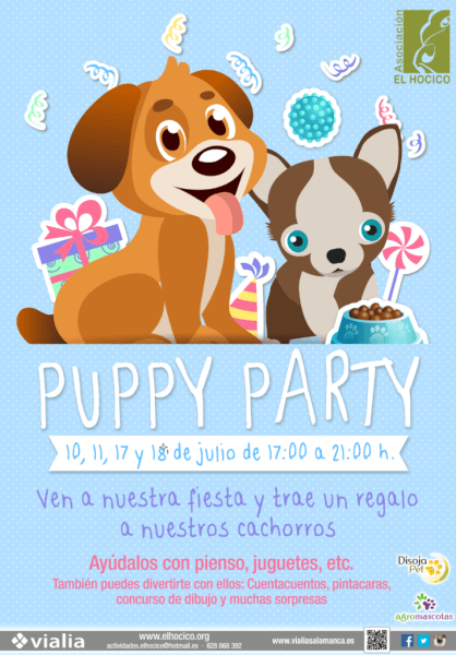 Puppy Party en Vialia