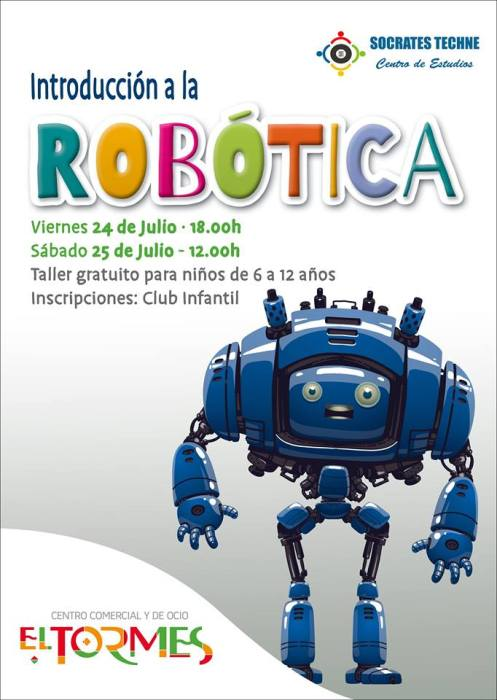 Talleres de Robótica en El Tormes