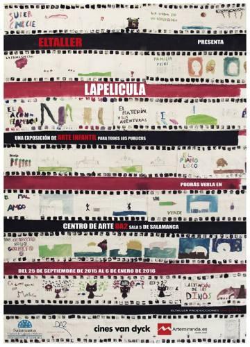 "Cartel de ""La Película"" en el DA2 de Salamanca"