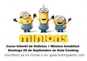 Curso de Galletas Minions en Gula