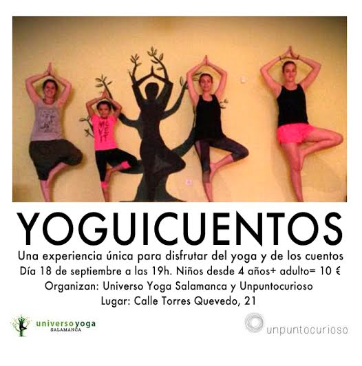 Yoguicuentos en Universo Yoga