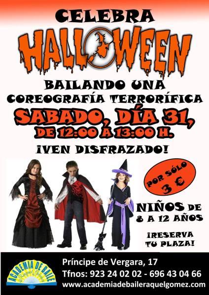 Celebra Halloween en la Academia de Raquel Gómez