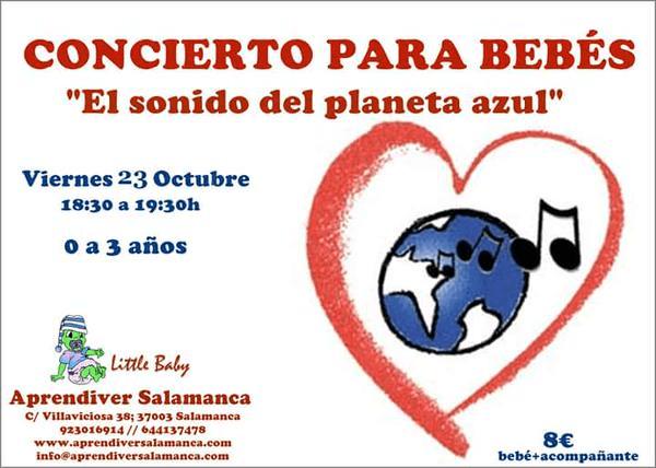 Concierto para bebés en Aprendiver el 23 de octubre