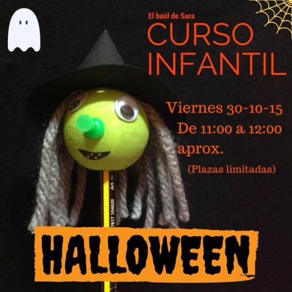 Curso infantil de Halloween en El Baúl de Sara